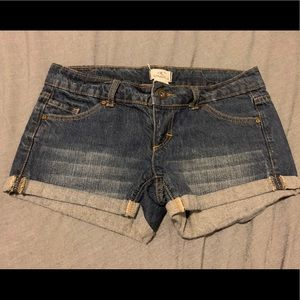 Gently used cute jeans shorts